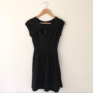 Guess Black Cutout Dress